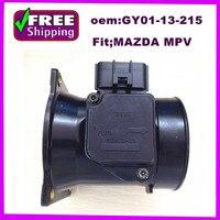 Alta qualidade oem gy0113215 GY01-13-215 uso maf medidor de fluxo ar para mazda mpv