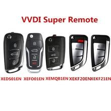 1/3/5 pces vvdi super remoto com xt27a01 xt27a66 chip para vvdi2/vvdi mini ferramenta chave/ferramenta chave vvdi max xeds01/xemqb1/xefo01en