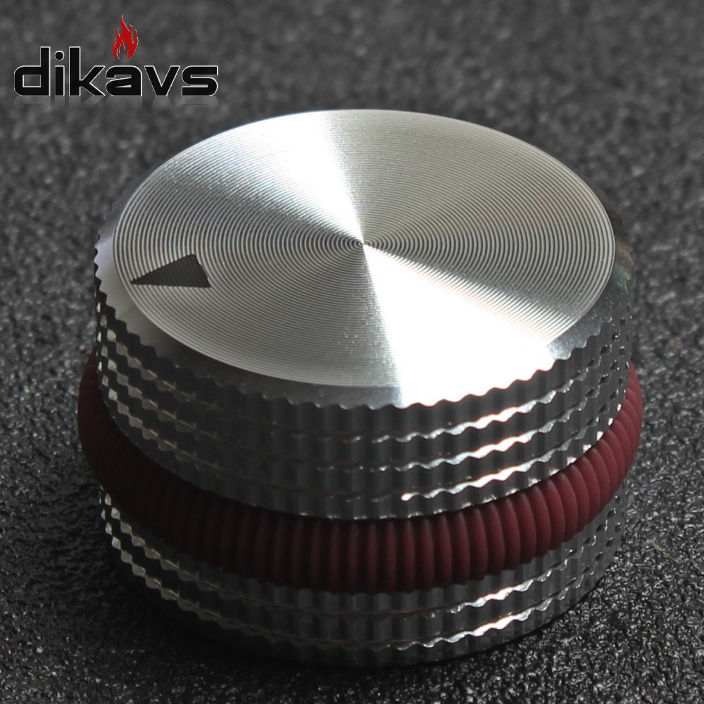 Solid Aluminum Knobs 25 X 15mm Potentiometer Knob Audio Volume Knobs