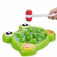 Interactivo Whack un ranas juego aprendizaje activo educativo temprano juguete bebé Juguetes Детские игрушки Juguetes para niños