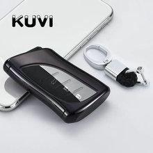 все цены на Hight quality PC+TPU key case cover Key case protective shell holder For Lexus ES200 ES260 ES300h LS3500 US Auto Key Case онлайн