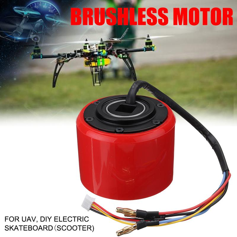 Efficient 150W 24-36V DC Brushless Scooter Hub Motor 1600rpm For DIY Electric Skateboard Wheel Scooter