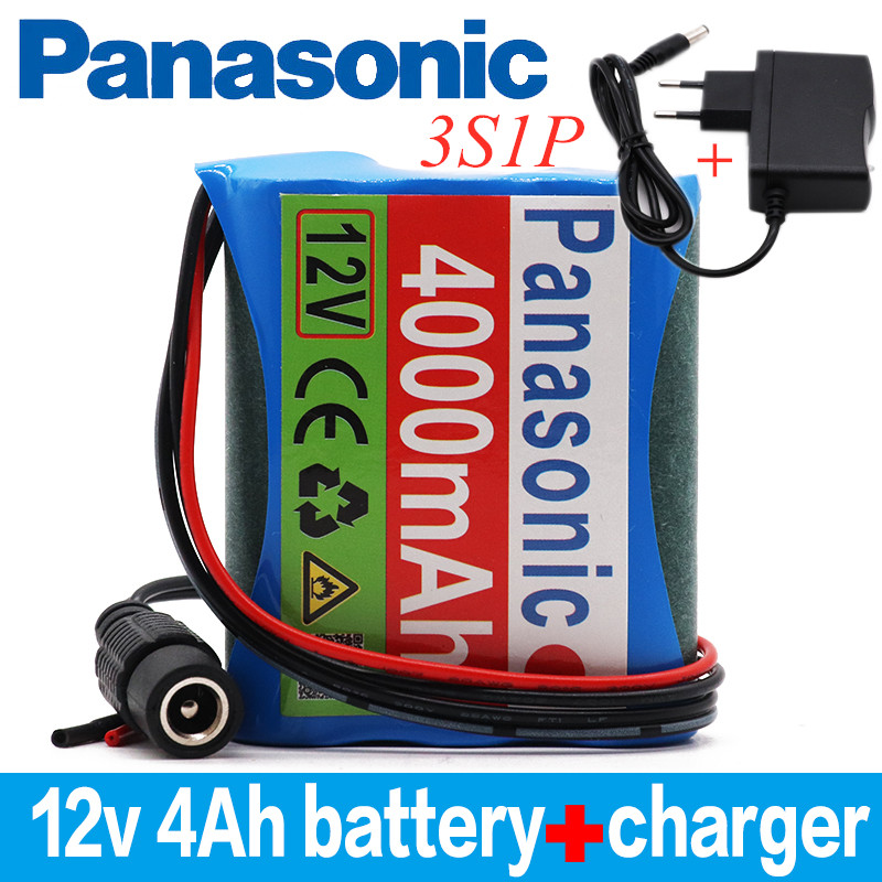 Panasonic 12 V 4000 mAh 3S1P <font><b>Batterie</b></font> Au Lithium <font><b>18650</b></font> <font><b>Batterie</b></font> Au Lithium <font><b>Pack</b></font> Protection Conseil Rechargeable 1A Chargeur image