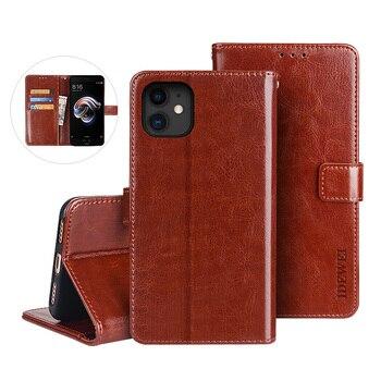 10 unidades de funda magnética de cuero PU para iphone 11 pro max xs x xr 6s 7 8 plus, fundas carcasas con tapa tipo billetera con ranura para tarjetas