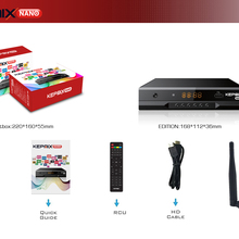 Satellite Receiver 2xusb-Port Kepnix Nano Hevc Powervu Autoroll Sunplus H.265 Digital-Set