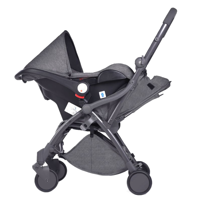 Baby Stroller Portable Foldable Reclining Basket Type   Can Be Mounted On The Aircraft Removable Simple Summer Umbre