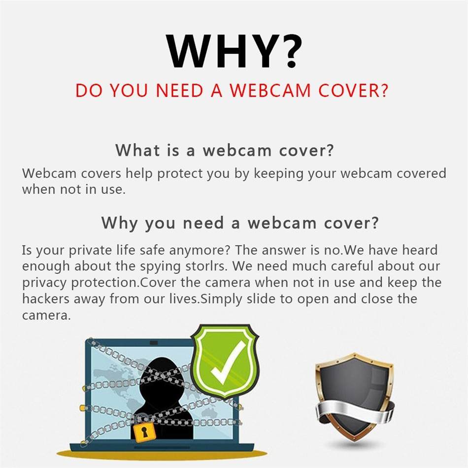 WebCam Cover Shutter Magnet Slider Universal Antispy Camera Cover For Web Laptop iPad PC Macbook Tablet lenses Privacy Sticker