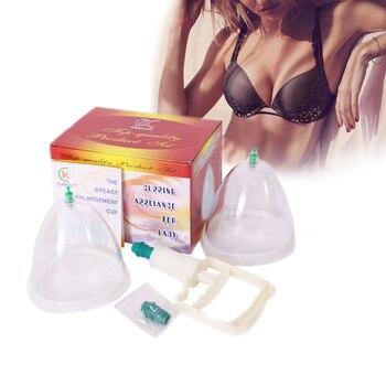 Poitrine fesses rehaussement pompe seins Massage ventouses outil ensemble Boob tasses à vide agrandissement du sein pompe à vide Machine d'aspiration