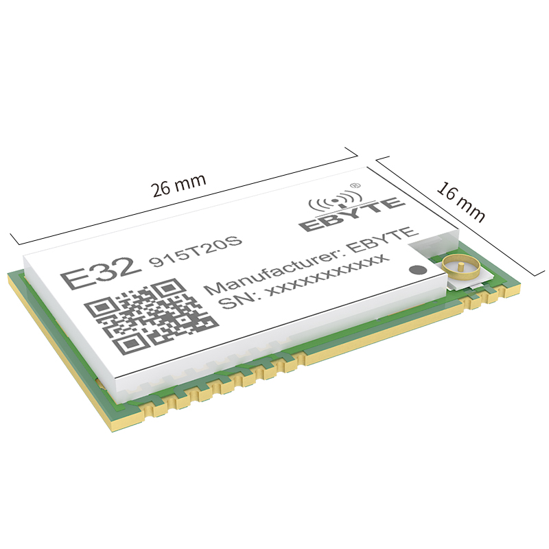 Image 2 - E32 915T20S SMD 915MHZ SX1276 Wireless Module LoRa Long Range Transceiver-in Fixed Wireless Terminals from Cellphones & Telecommunications