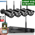 OOSSXX 8CH 1080 P Wireless NVR Kit Drahtlose CCTV Kamera System 1MP Indoor Outdoor IP67 IP Kamera P2P Video Überwachung system