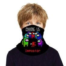 Среди нас многофункциональный шарф для игр и занятий спортом