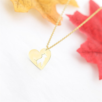 Dog Heart Necklace  3