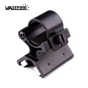 Image 1 - VASTFIRE Umfang Montieren Starke Military Dual Magnetische X Taktische Taschenlampe Waffe Gun Halterung Olight X WM02 DIY 23 26mm durchmesser
