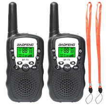 2 pcs / set Baofeng T3 22CH BF-T3 Portable mini walkie talkie for kids gift radio 0.5W Two-Way Radio Interphone Transceiver BFT3