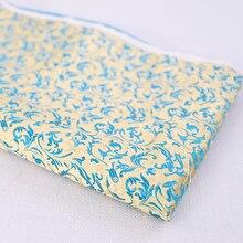 Brocade Fabric Beautiful Fabrics For Sewing Kimono and Cheongsam satin fabric for DIY