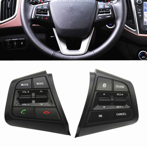 For Hyundai Creta ix25 Steering Wheel Cruise Control Buttons For Creta ix25 2.0 L 96700C90004X 96710C90004X 96710C90104X(China)
