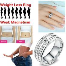 Модное микро магнитное кольцо для похудения Сжигание жира кольцо для похудения тонкие инструменты дешевый продукт для похудения