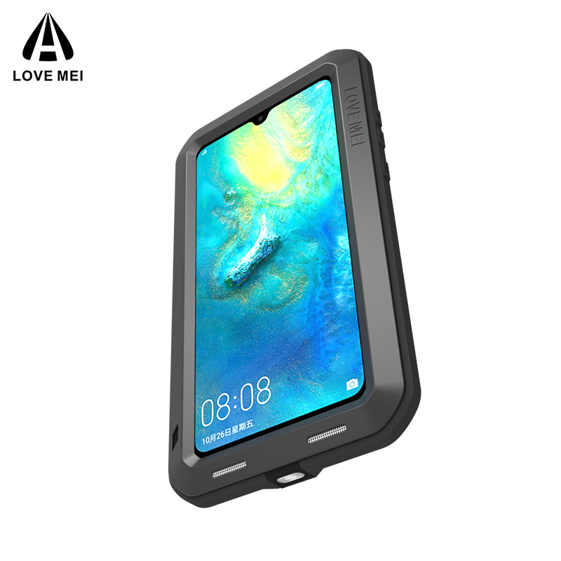 Image 5 - Original Aluminum Metal Glass Outdoor Shockproof Case for HUAWEI Mate 20/Mate10 Case for Huawei Mate 20 Lite/10 Pro Cover-in Fitted Cases from Cellphones & Telecommunications