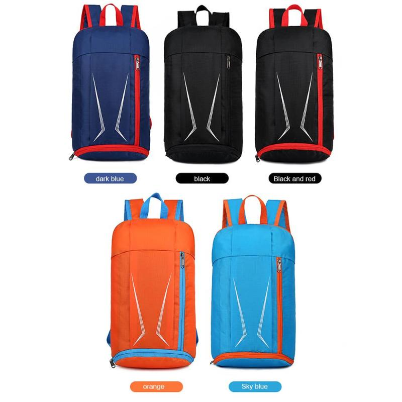 Outdoor Sports Nylon Travel Backpacks Folding Waterproof Camping Knapsack Bag