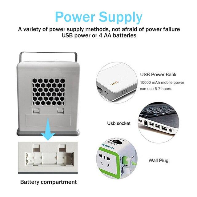 3 в 1 портативный USB мини Кондиционер охлаждающий вентилятор увлажнитель очиститель автомобильный Кондиционер для дома и офиса
