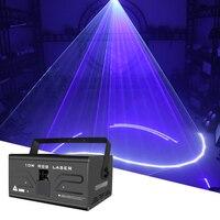 Luce Laser di animazione a colori da 10W DMX512 30kpps discoteca led modelli di feste musicali proiettore Laser Stage DJ Show Effect Lights