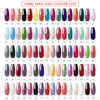 Coscelia 10ml gel nail polish set with lamp manicure set nail kit tools for manicure set for gel varnish for nail art pusher kit