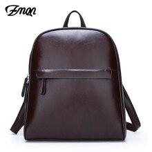 Женский кожаный рюкзак ZMQN, винтажный, вместительный, C130, 2020