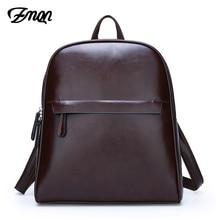 ZMQN Vintage Leather Backpack Women 2020 Mochila Feminina Big Capacity Bagpack School Bags For Teenage Girls Bag For Female C130