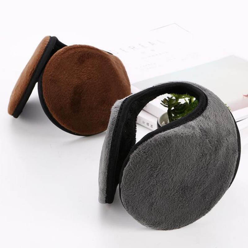 Calymel Winter Fleece Warmer Earmuff Warm Plush Cloth Ear Muffs Cover Unisex Ear Muffs меховые наушники