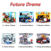 XINGBAO 01402 6 IN 1 The Future Dreams House Sets Building Blocks MOC Bricks City Friends Model Compatible Legoings
