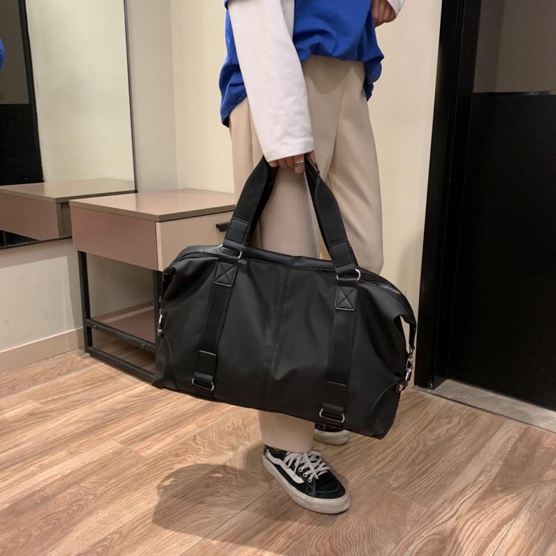 New PU Handbag With Waterproof Back And Bill Back, Large Capacity Business Short-distance Fitness Travel Handbag