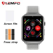 LEMFO LEM10 4G Smart Watch Phone Android 7.1 3GB+32GB Support GPS / WiFi / SIM card / Heart Rate Monitor 2MP Camera Smartwatch(China)