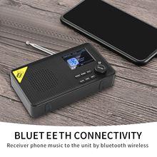 Bluetooth 5.0 FM Stereo Digital Portable Radio  FM/DAB/DAB+ Tuner Lets Multifunctional Music Player Lightweight Home Radio