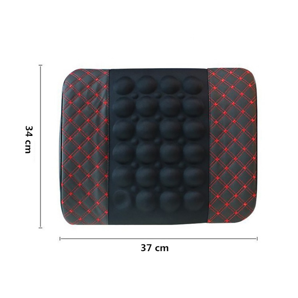 cheapest Car Electric Massage Cushion lumbar Massage cCar Seat Back Cushion lumbar support Car Massage Lumbar Cushion