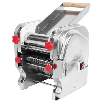 Electric Pasta Maker Stainless Steel Spaghetti Noodles Roller Machine for Home Restaurant Commercial EU 220V 500W