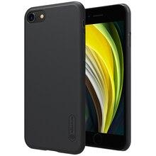 """Dla iPhone SE 4.7 """"2020 skrzynki pokrywa NILLKIN Super matowa tarcza matowa twarda tylna pokrywa telefon komórkowy shell iPhone SE 4.7 cala 2020"""