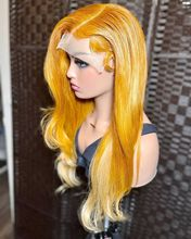 ALIFITOV MIx Yellow hd Lace Brazilian Remy Human Hair Lace Front Wigs For Black Women