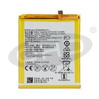 Bateria original hb386483ecw do telefone para huawei honor 6x/g9 plus/maimang 5/gr5 2017 3340mah baterias de substituição