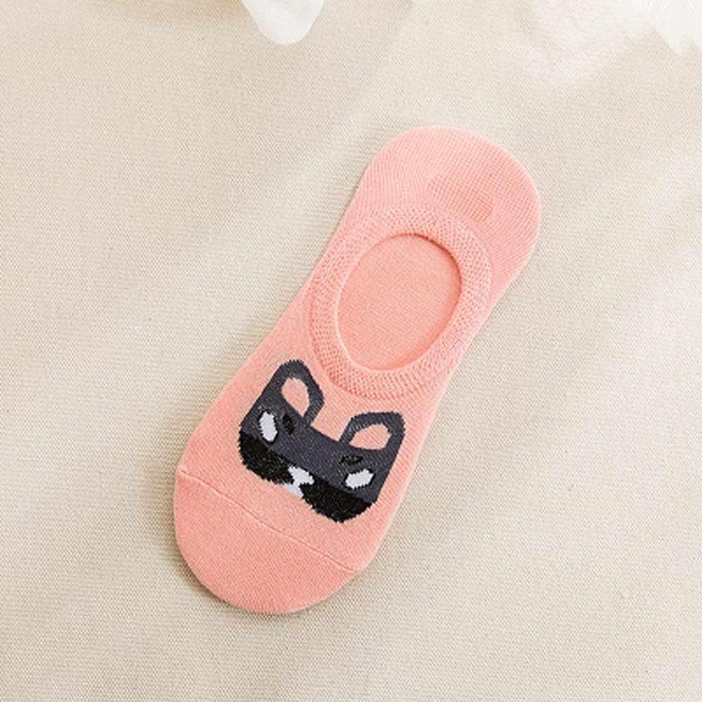 かわいい漫画の靴下犬猫の女性かわいい原宿女性靴下動物暖かい靴下女性のため女性 Sokken Freeship