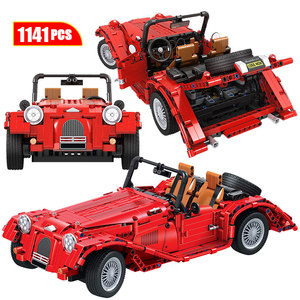 Hipac Winner City Three Wheeled Convertible Classic Cars Truck Building Blocks Technic Model Car Bricks Blocks Toys for Children