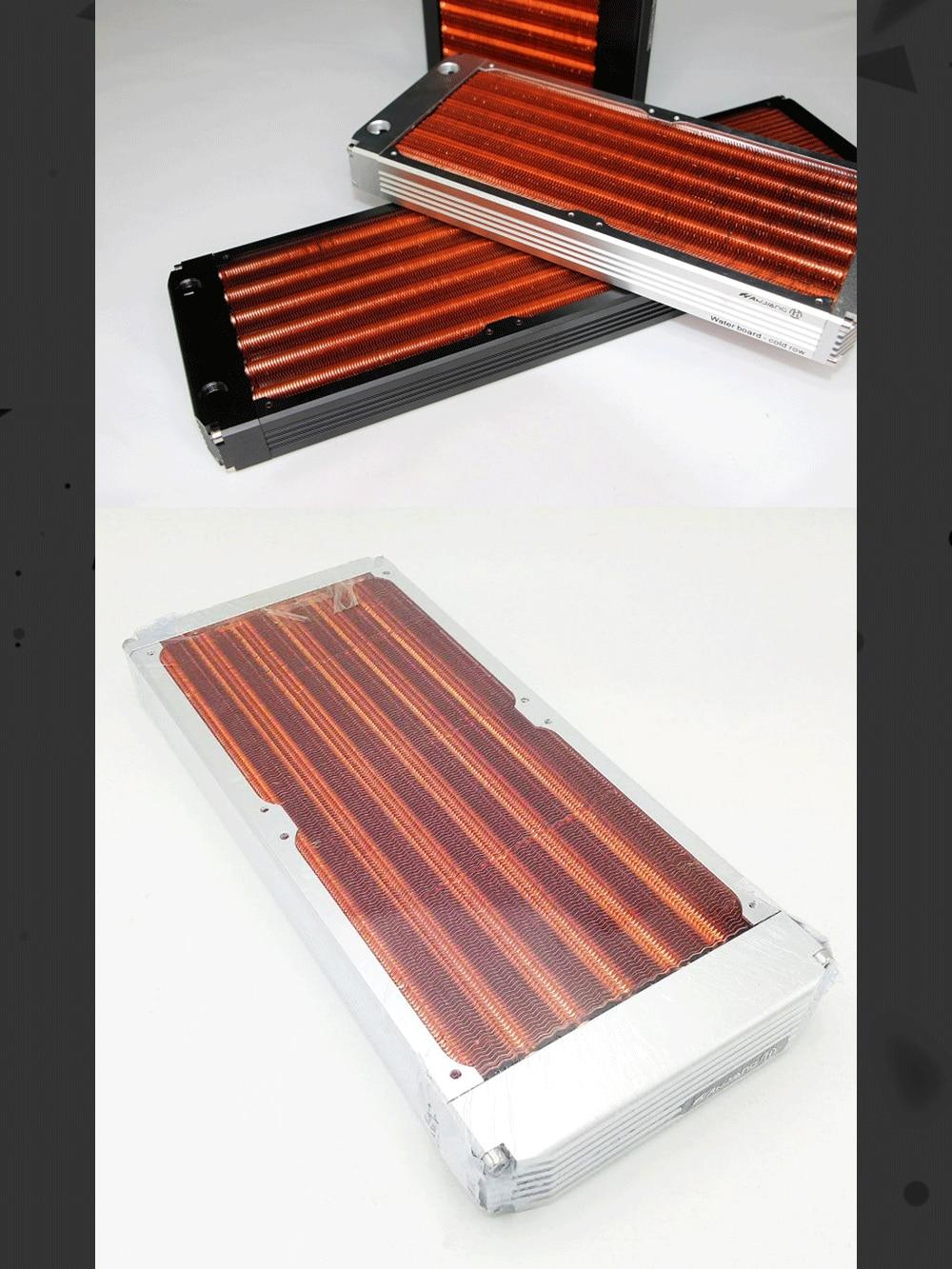 HanJiang HJ-SRQ, 120/240/360mm Copper Radiators, 30mm Thickness Water Cooling Radiators, For 120mm Fans