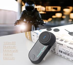 Image 2 - מקורי FreedConn TCOM OS אופנוע אינטרקום Bluetooth קסדת אוזניות T COM OS 2 רוכבים FM BT האינטרפון Intercomunicador