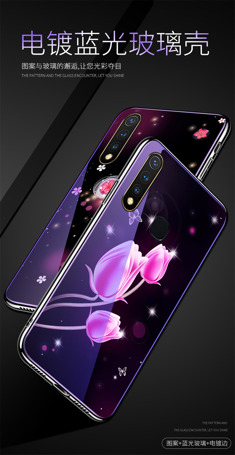 苹果x紫光玻璃壳_01