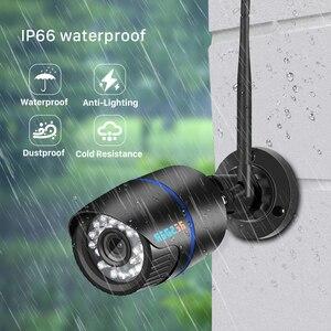Image 2 - Kamera IP BESDER1080P Wifi IR Night Vision karta SD kamera bezprzewodowa 2MP Audio Record Bullet Onvif CCTV nadzór wideo na zewnątrz