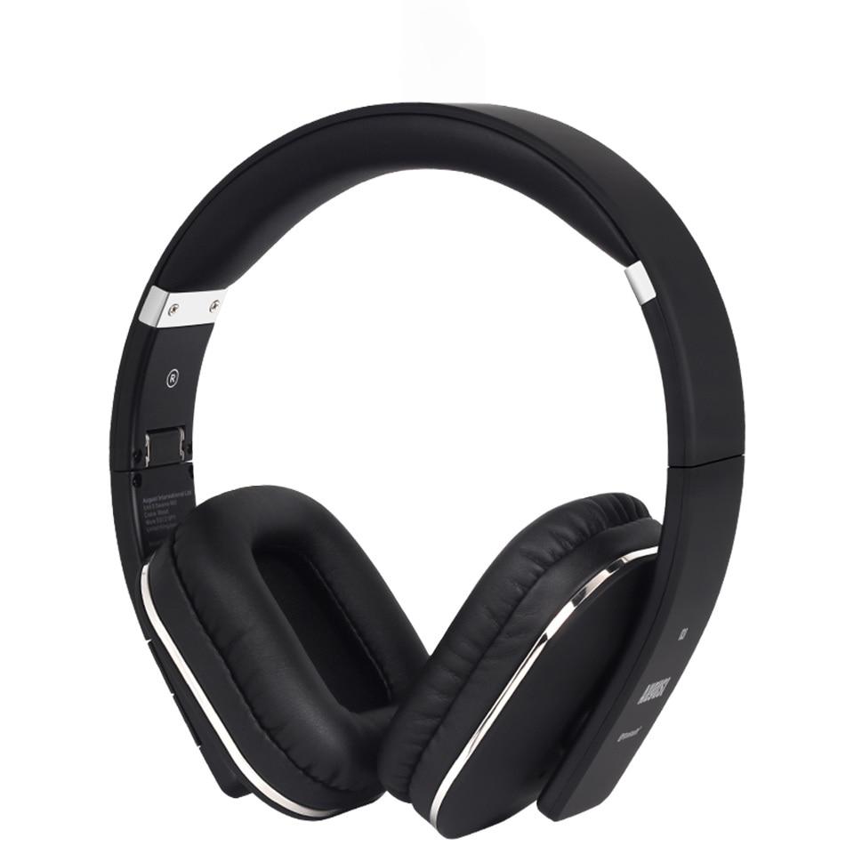 Fones de Ouvido sem Fio com Microfone Fone de Ouvido para tv Nfc sobre a Orelha Agosto Bluetooth Multiponto 4.2 Música Estéreo Aptx Telefone Ep650 –