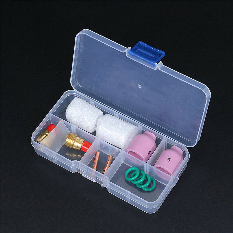 Stubby Tig Torch Equipment Tool 13N23 Chucks 45V44 Collet Body Air Lens Consumables Accessories For WP9 20 25 O-Rings