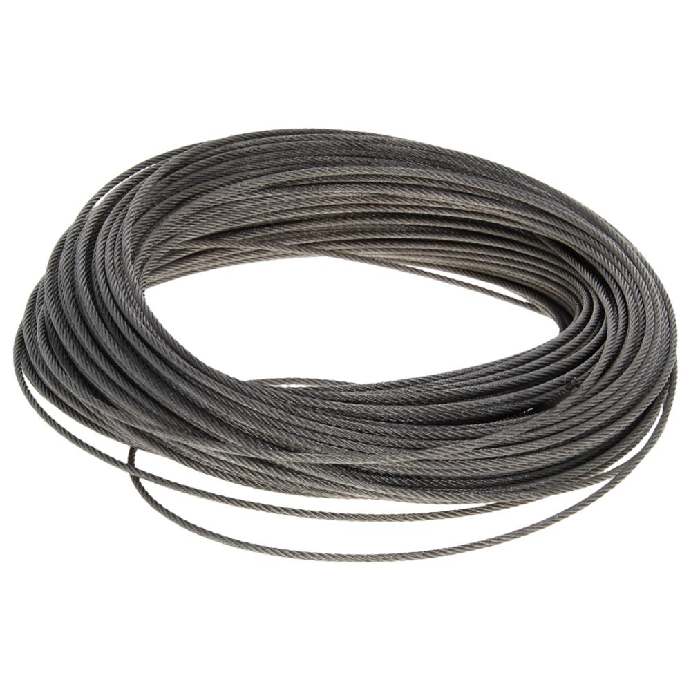 High Quality 1.5~2.5mm Diameter Steel Wire Cable 304-Stainless-Steel 4~47m Long Flexible Wire Rope Soft Lifting Cable 1pcs