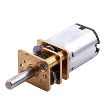 цена на DC 3V 0.3A 15RPM Electric geared motor box for Robot