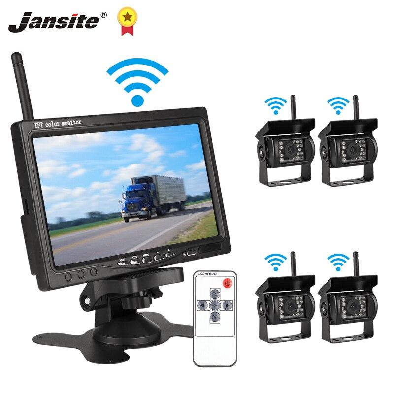 Jansite-moniteur de voiture sans fil 7
