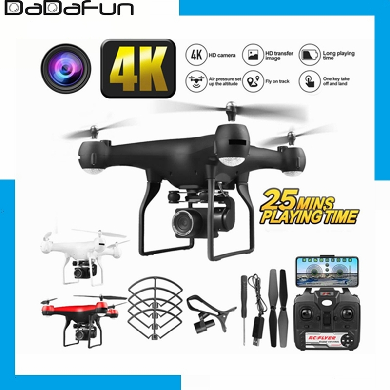 1080P 4K RC Drone Quadcopter drone with 1080P 4K  HD Wifi camera video highly stable Rc helicopter F68 4K RC Camera drones